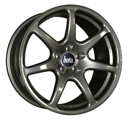 "17"" Bola B7 Gloss Gun Metal Alloy Wheels"