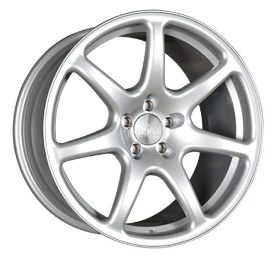 """17"""" Bola B7 Silver Alloy Wheels"""