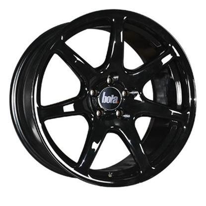 "18"" Bola B7 Gloss Black Alloy Wheels"