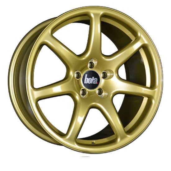 "18"" Bola B7 Gold Alloy Wheels"