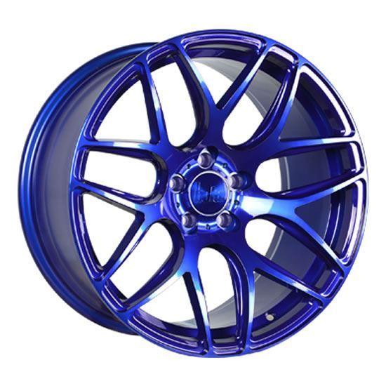 """18"""" Bola B8R Candy Blue Alloy Wheels"""
