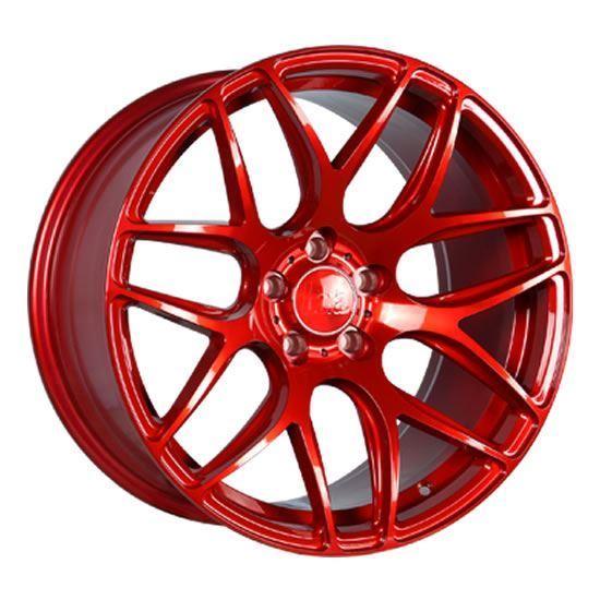 "18"" Bola B8R Candy Red Alloy Wheels"