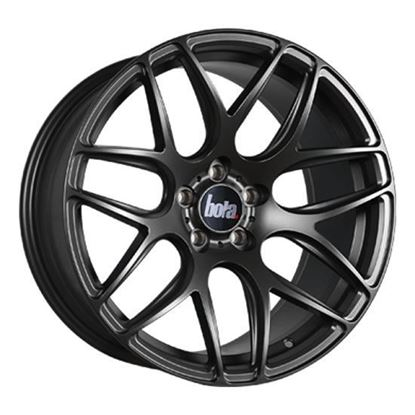 "18"" Bola B8R Matt Gun Metal Alloy Wheels"