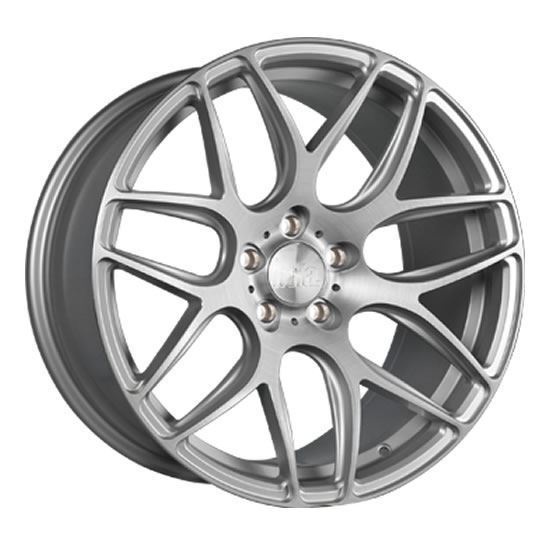"18"" Bola B8R Silver Brushed Alloy Wheels"