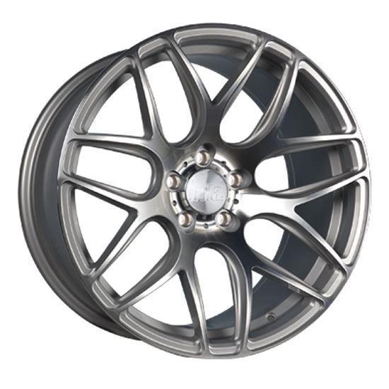 """18"""" Bola B8R Silver Polished Alloy Wheels"""