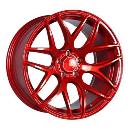 "19"" Bola B8R Candy Red Alloy Wheels"