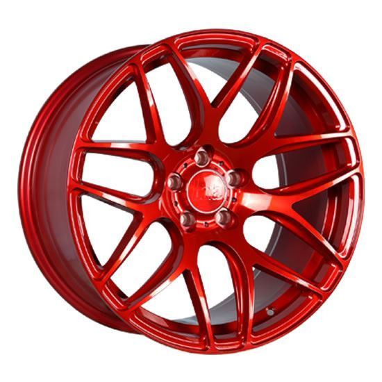 "19"" Bola B8R Candy Red Alloy Wheels"