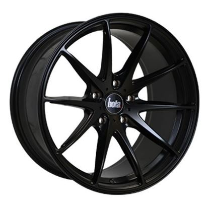 "18"" Bola B9 Matt Black Alloy Wheels"