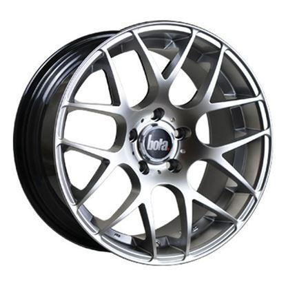 """18"""" Bola MSH Hyper Silver Alloy Wheels"""