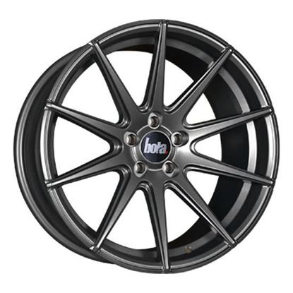 "17"" Bola CSR Matt Gun Metal Alloy Wheels"