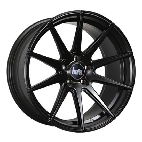 "19"" Bola CSR Matt Black Alloy Wheels"
