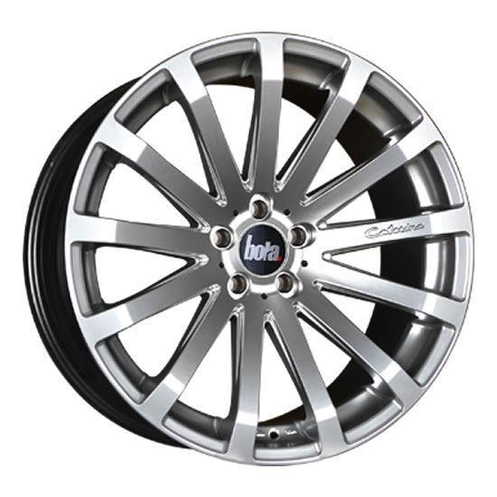 "20"" Bola XTR Hyper Silver Alloy Wheels"