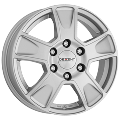Dezent Van Alloy Wheels - Silver