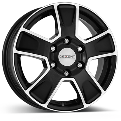 Dezent Van Alloy Wheels - Dark