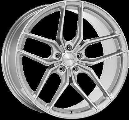 Veemann VC03 Quartz Silver Machined Alloy Wheels