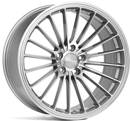 18 inch VEEMAN Alloys, V-FS 36 Silver Machined, Auto Alloys, UK & Ireland
