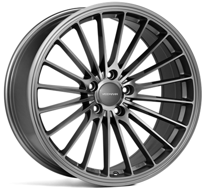 18 inch VEEMAN Alloys, V-FS 36 Gloss Graphite, Auto Alloys, UK & Ireland