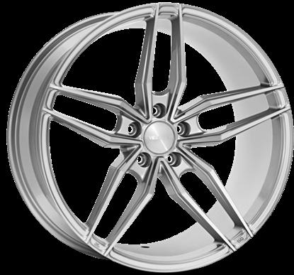 Veemann V-FS37 Silver Machined Alloys Wheels