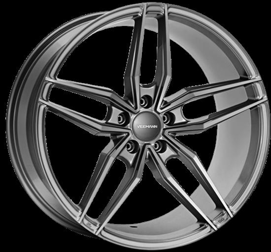 Veemann V-FS37 Gloss Graphite Alloy Wheels