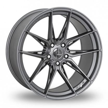 "19"" AC Wheels FF064 Satin grey Alloy Wheels"