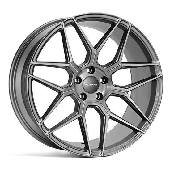 """20"""" Veemann V-FS38 Gloss Graphite Alloy Wheels"""
