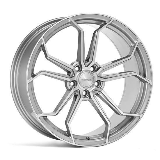 "20"" Veemann VC632 Silver Machined Alloy Wheels"