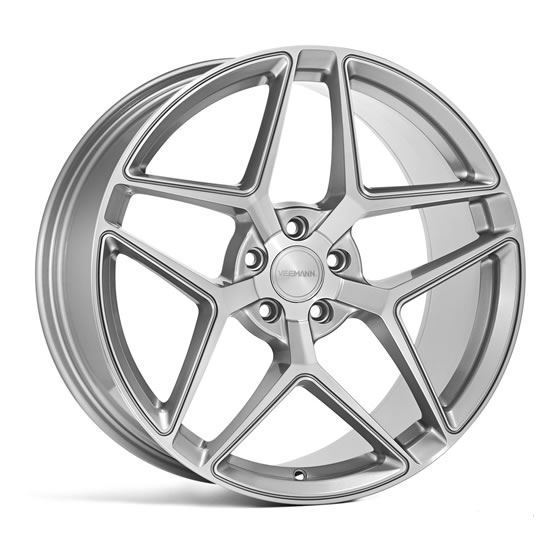 "20"" Veemann VC650 Silver Machined Alloy Wheels"