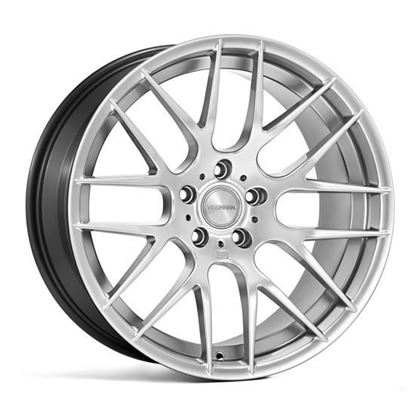"18"" Veemann VC359 Silver Machined Alloy Wheels"