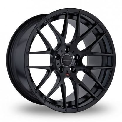 "18"" Veemann VC359 Gloss Black Alloy Wheels"