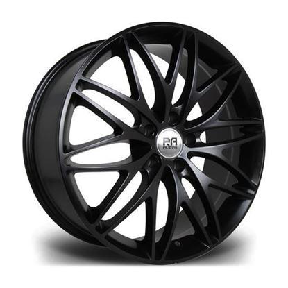 """20"""" Riviera Stryke Matt Black Alloy Wheels"""