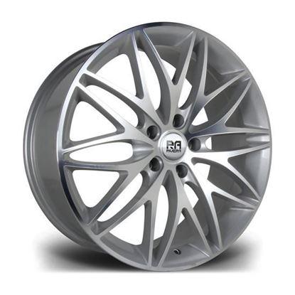 "20"" Riviera Stryke Silver Machined Alloy Wheels"