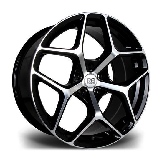 "20"" Riviera Victus Black Machined Alloy Wheels"