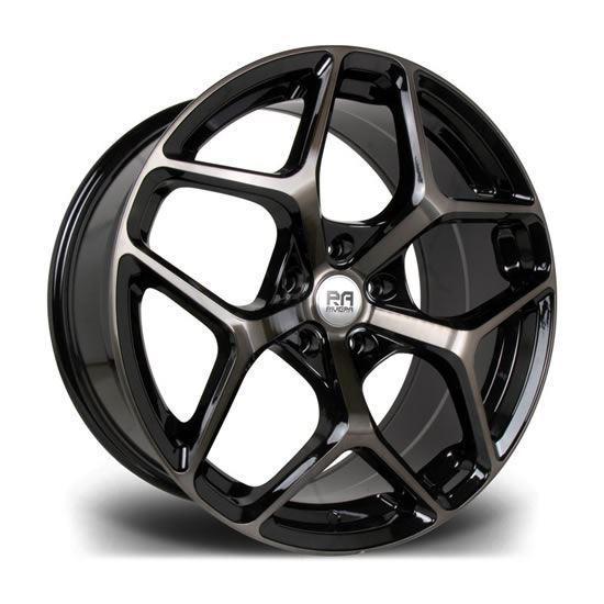 """20"""" Riviera Victus Double Dark Tint Alloy Wheels"""