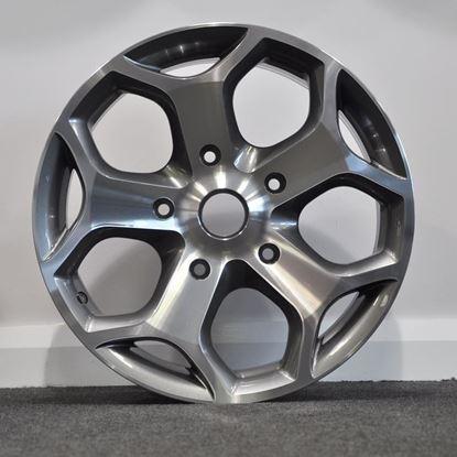"18"" RAW Transit ST Style Alloy Wheels - Gunmetal Polished"