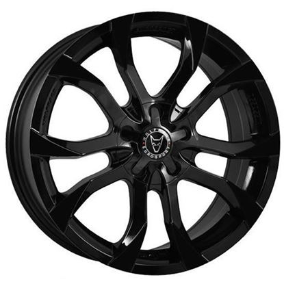 "16"" Wolfrace Assassin Gloss Black Alloy Wheels"