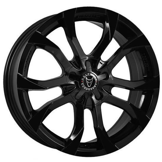 "20"" Wolfrace Assassin Gloss Black Alloy Wheels"
