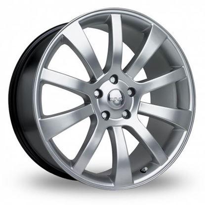 "18"" Riva SUV Hyper Silver Alloy Wheels"
