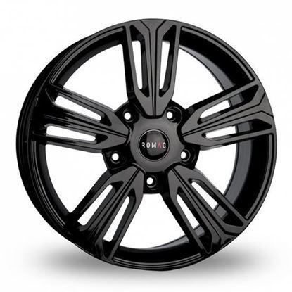 "20"" Riva Raptor Gloss Black Alloy Wheels"
