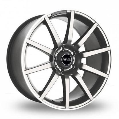 "18"" Riva BNZ Silver Alloy Wheels"