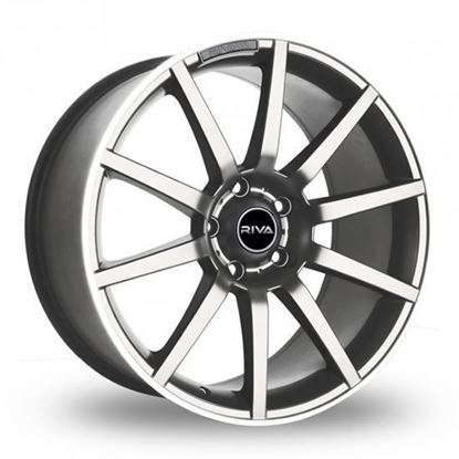 "19"" Riva BNZ Silver Alloy Wheels"