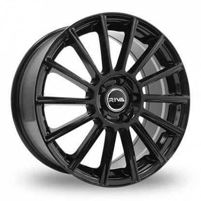 "17"" Riva MBM Gloss Black Alloy Wheels"