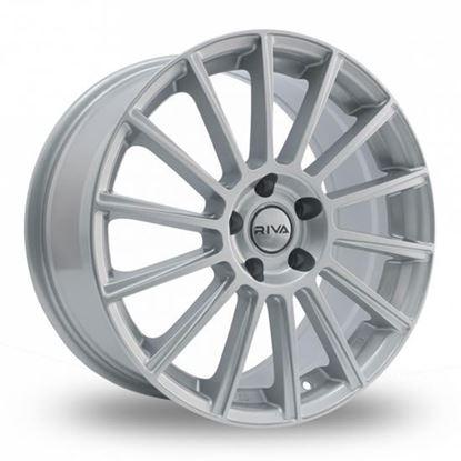 "18"" Riva MBM Silver Alloy Wheels"
