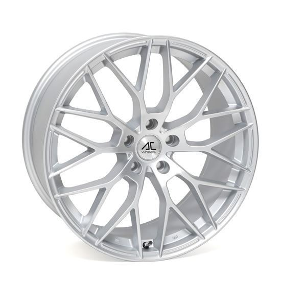 "17"" AC Wheels Saphire Matt Silver Alloy Wheels"