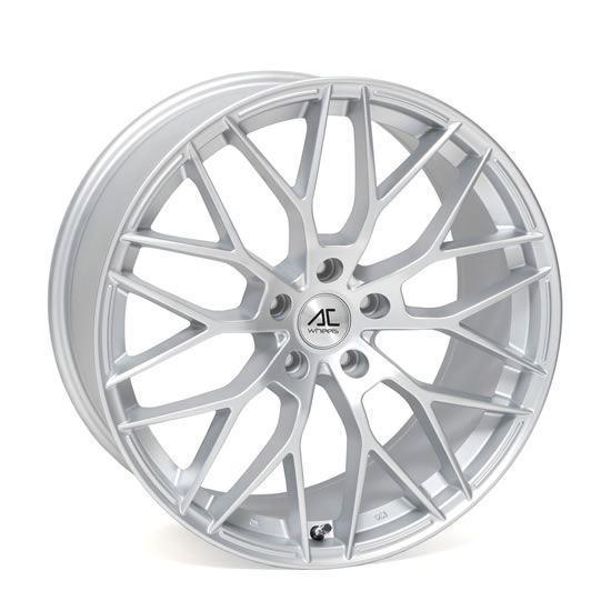 "18"" AC Wheels Saphire Matt Silver Alloy Wheels"