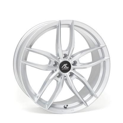 """19"""" AC Wheels FF029 Silver Alloy Wheels"""