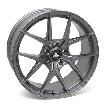 "18"" AC Wheels Supremo Dark Matt Grey Alloy Wheels"