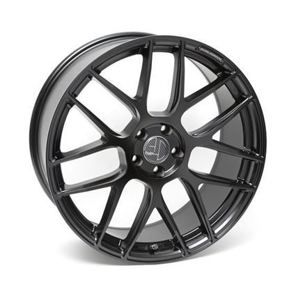 "19"" AC Wheels FF046 Satin Black Alloy Wheels"