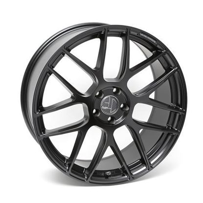 "20"" AC Wheels FF046 Satin Black Alloy Wheels"