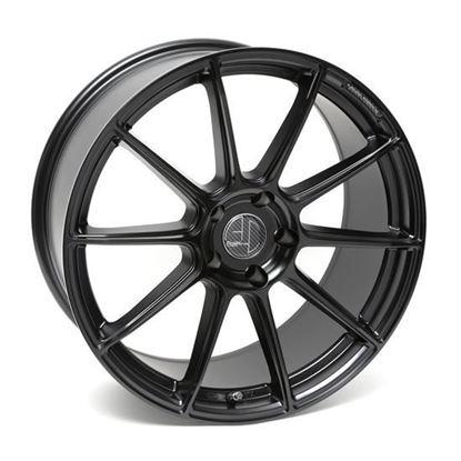 """18"""" AC Wheels FF047 Satin Black Alloy Wheels"""