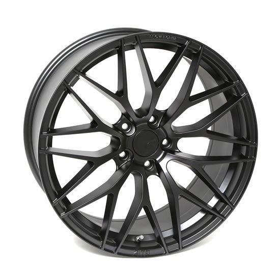 "22"" Zito ZF01 Satin Black Alloy Wheels"